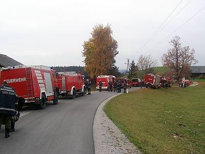 29102005 übung Waldbrand In St Pankrazen